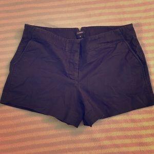 Black j crew shorts!